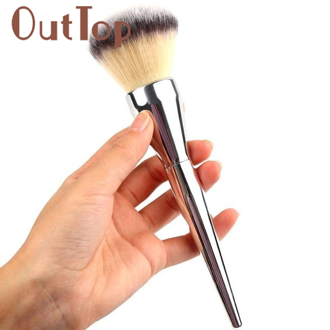 2017 Hot 1PC Makeup Brushes Kabuki Face Blush Cosmetic Brush Powder Foundation Tool Fibre hair pincel maquiagem Mar1