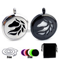 New Arrivals Horse (30mm) Aromatherapy / Stainless Steel Essential Oils Diffuser Locket Necklace