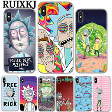 coque rick and morty iphone x