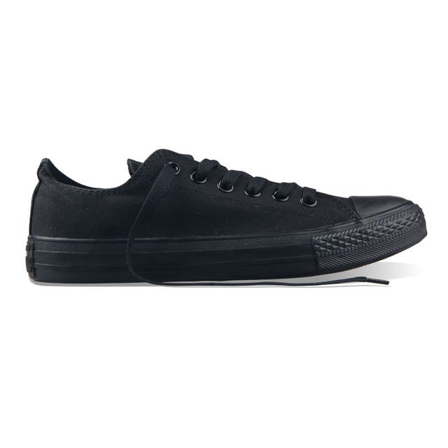 652e5d05735c classic Original Converse all star men and women sneakers canvas shoes all  black and beige low