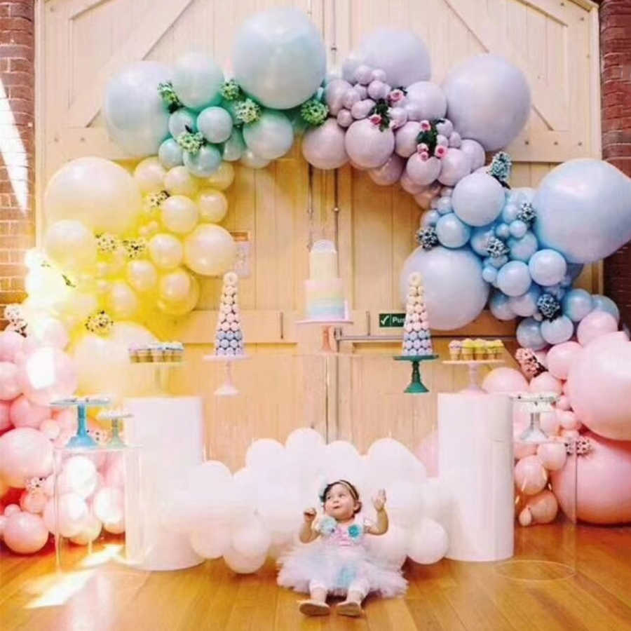10pcs Lot Latex Balloon Happy Wedding Birthday Party Decorations Home Garden Holiday Atmosphere Decoration Bride