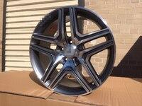 Бесплатная доставка; партия из 20 AMG темно серый колесные диски подходит S CLASS S400 S430 S500 S550 S600 CL W824