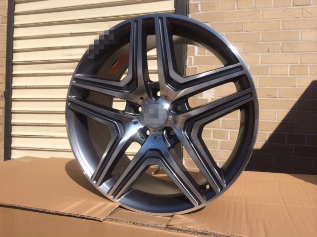 Free Shipping 20 AMG GUNMETAL RIMS WHEELS FITS S CLASS S400 S430 S500 S550 S600 CL