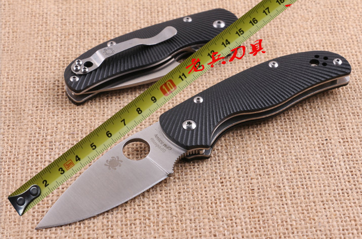 Hot selling C41 5cr13mov blade G10 handle folding font b knife b font outdoor camping survival