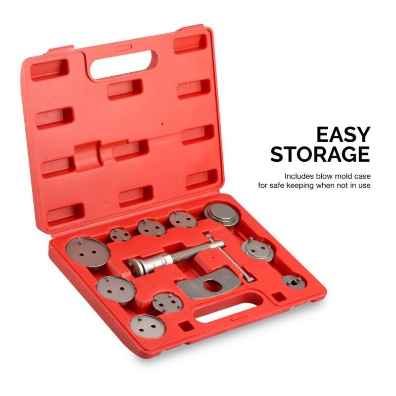 12pcs/set Universal Precision Car Brake Disc Brake Caliper Brake Tools Kit Brake Pads Pump Car Piston Kit New