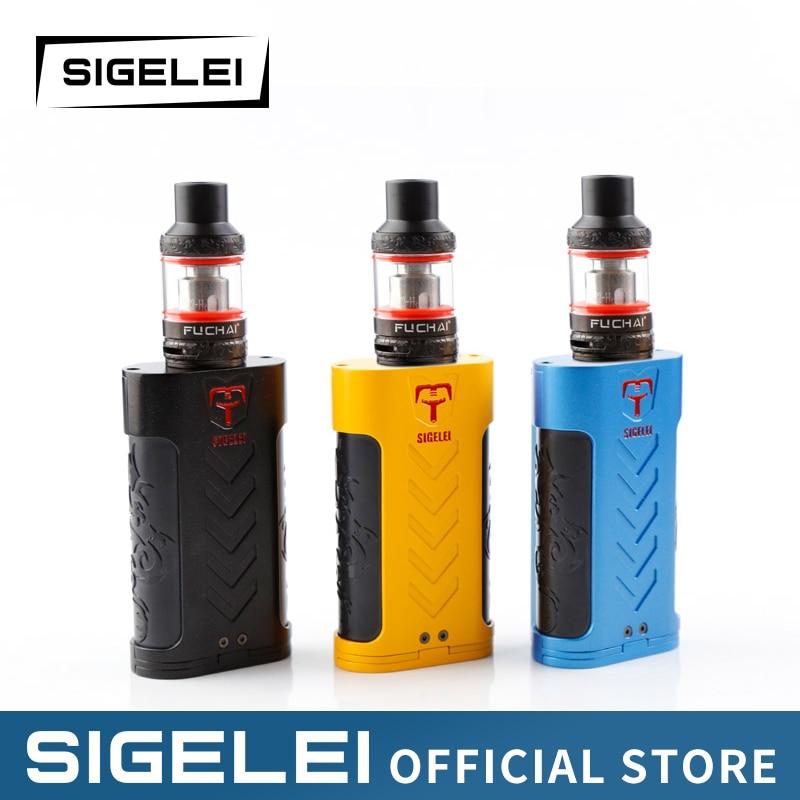 Super Vape kit e eletronic cigarette 220W SUPER POWER Mod Atomizer original Sigelei Fuchai range fuchai