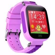 Kostenloser versand smart watch für kinder kinder smartwatch telefon mit sim anrufe anti-verlorene tracker sos