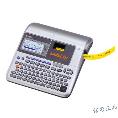 Original KL-7400 Portable English Label Machine, Can Print 6/9 / 12mm Label Supports Label Tape Sizes 24/18/12/9/6mm