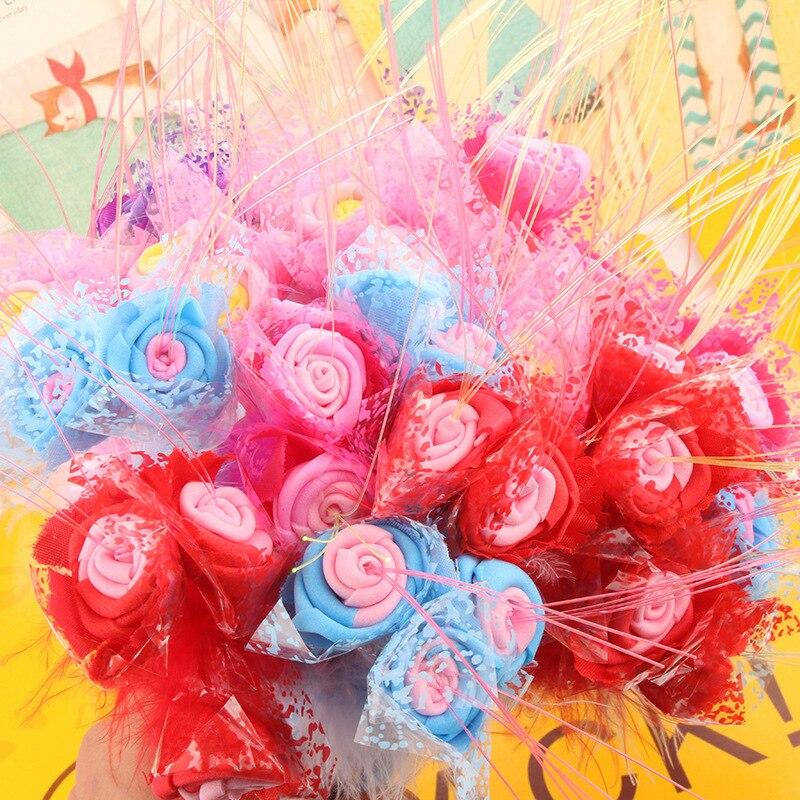 P-0432 Завод прямых продаж творческие канцтовары оптом июля День Святого Валентина свадебные моделирования Роза шариковая ручка