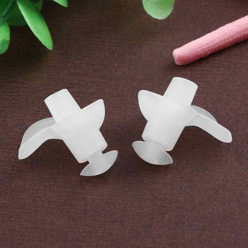 1 pçs estilo flor silicone tampões de ouvido para natação macio à prova dwaterproof água nariz clipe tampões para adultos natação mergulho piscina acessórios