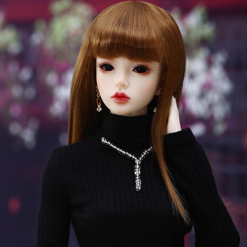1//4 BJD Girl Doll Resin Material Beautiful Blank Body DIY Handmade HOT Kid Gifts