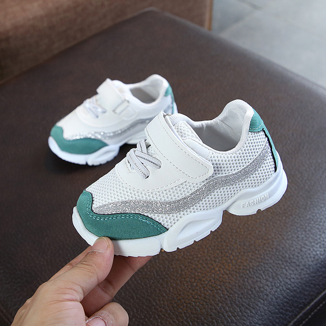 hot sales breathable light baby casual sneakers All season rubber Cool shoes for girls boys elegant baby infant tennis shoes