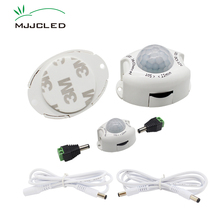 Motion Sensor Light Switch 5V 12V PIR DC Movement Detector Activated Timer Automatic ON OFF for LED Strip