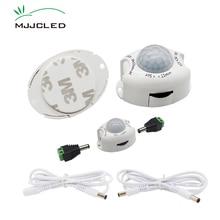 Motion Sensor Light Switch 5V 12V PIR Motion Sensor DC Movement Detector Activated Timer Automatic Switch ON OFF for LED Strip