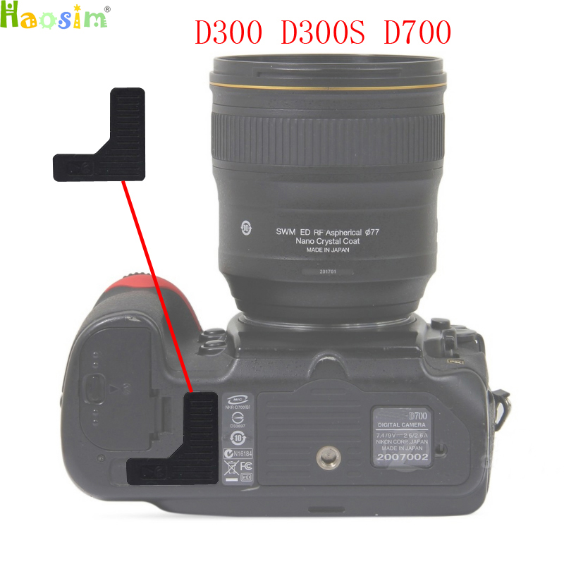 For <font><b>Nikon</b></font> D300 D300S <font><b>D700</b></font> The Thumb <font><b>Rubber</b></font> Back cover <font><b>Rubber</b></font> DSLR Camera Replacement Unit Repair Part image