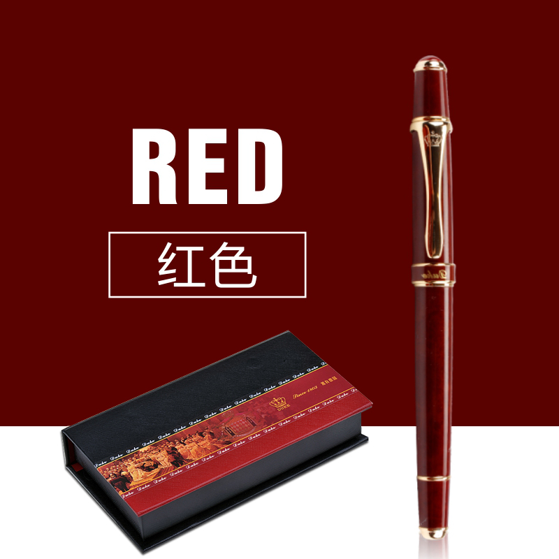 School Office Stationery Supplies Duke Luxury Wine Red and Gold Clip Rollerball Pen 0.7mm Metal Ballpoint Pens for Gift metal ballpoint pen magnetic think ink pen anti stress for fidget spinner focus promotional gifts school supplies stationery
