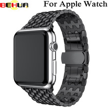Banda de reloj para Apple Watch 42mm Series1 Serie 2 de la serie 3 de la versión clásica para iWatch correa de 38mm pulsera de Metal cinturón(China)