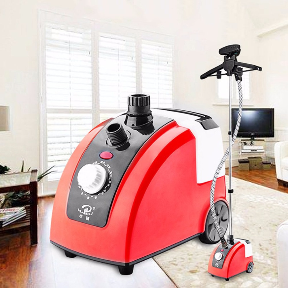 1700W 1.7L Large Capacity Garment Steamer Vertical Ironing Clothes Steamer Steam Nozzle Tube Electric Household Garment Ironing household garment steamer 1 6l handheld clothes steamer vertical steam ironing machine ls 708d