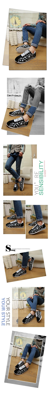 Men's Shoes Sensible Laisumk Plus Size High Quality 2019 Mens Casual Set Of Feet Shoes Autumn Lightweight Breathable Flats Fashion Male Shoes