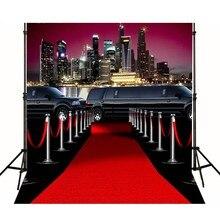 Hollywood Celebridade No Tapete Vermelho Do Carro Vinil pano de fundo pano de Alta qualidade de impressão Computador do partido da foto fundo do estúdio