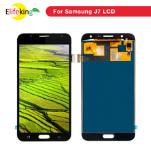 5PCS/Lot J700 LCD For Samsung J7 2015 J700 J700F J700M J700FN LCD Display With Touch Screen Digitizer Full Assembly Repalcement недорго, оригинальная цена