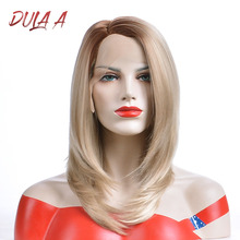 Dula A Synthetic Lace Front Wigs Short Bob Lace Wigs Hair Si
