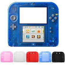 Защитный чехол, мягкий силиконовый чехол, Нескользящие ударопрочные аксессуары для игровой приставки Nintendo 2DS