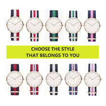 High Quality Nylon Watchband for dw watch Daniel Wellington multiple colour 18mm 20mm Luxury Replace Bracelet Strap Watch Band(China)