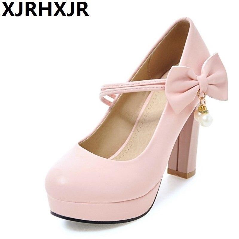 Plus De Doux Taille purple Couleur Rond Pompes 43 Base Bureau black beige Pink Haute Arc Chaussures Xjrhxjr Bout La Sucrerie Dames Automne white Femmes Talons 33 UazF0