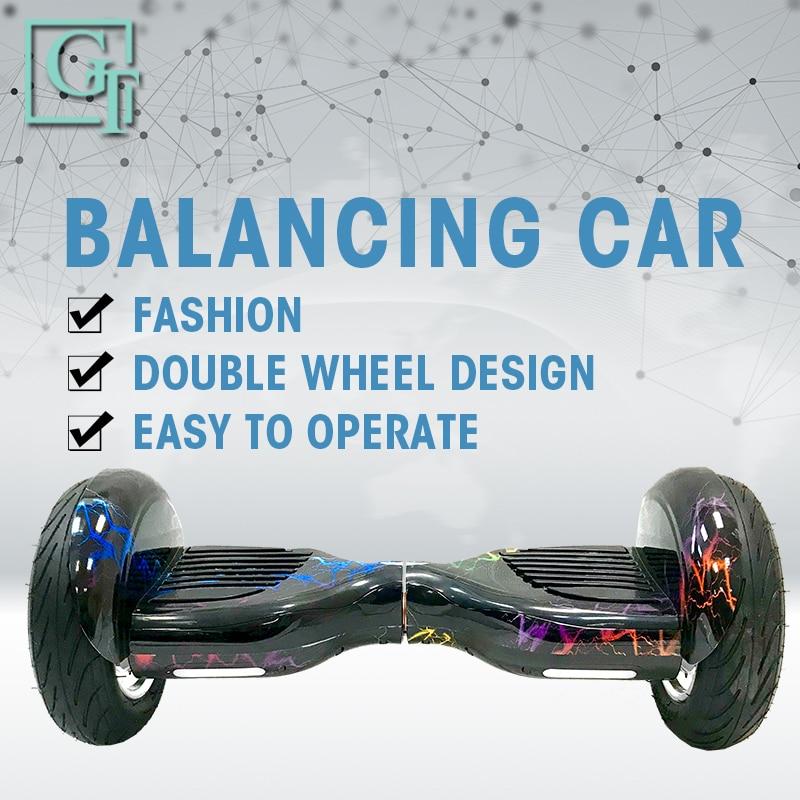 GyroScooter Hoverboard PT 10 polegada com bluetooth auto balanceamento de scooter de duas rodas inteligente 36V 800W Forte poderoso pairar placa