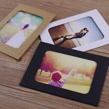 6inch photo diy handmade cardboard brief photo frame vintage photo frame decoration wall gifts paper crafts