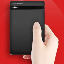 Горячий стиль SBOX02502 мобильный ноутбук 2.5 3,5-дюймовый жесткий диск коробка последовательный порт 9.5 мм HDD корпус удобная установка вставить
