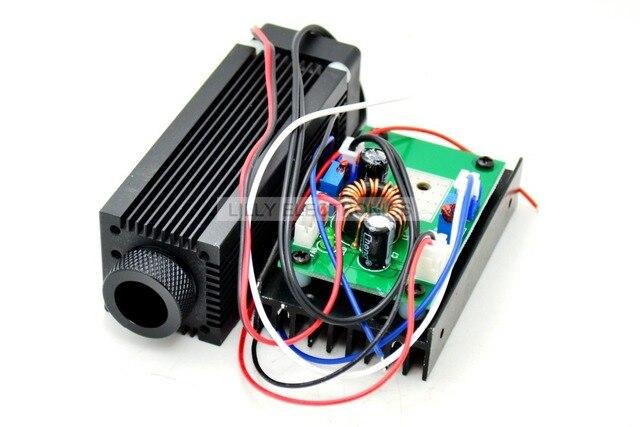 Industrial enfocable 1,6 W 2,4 W 808nm láser infrarrojo Módulo de diodos DC 12 V modo TTL
