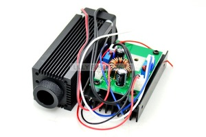 Image 1 - 산업용 focusable 1.6 w 2.4 w 808nm 적외선 레이저 다이오드 모듈 dc 12 v ttl 모드