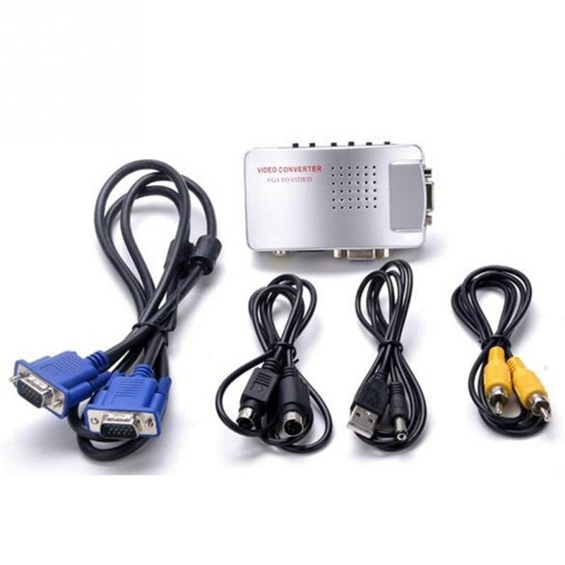 Miraculous 1 Set High Resolution Digital Av Svideo To Vga Tv Signal Converter Wiring Cloud Philuggs Outletorg