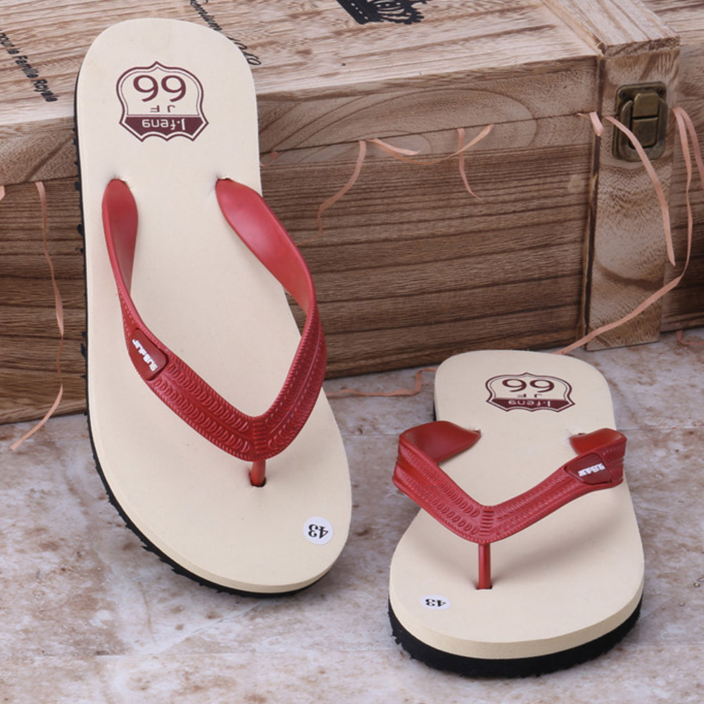 Summer Shoes Sandals Flip-Flops Slipper Indoor Anti-Slip Outdoor Male Casual Breathable