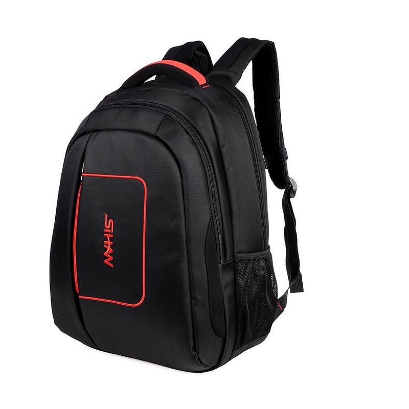 Nouveau haute qualité étanche 15.6 pouces hommes cahier sac à dos pour ordinateur portable en Nylon sac à dos d'affaires voyage sac à dos mochilas masculina