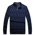 Миллиардер итальянский couture мужская футболка 2017 запуск полный рукавом стенд воротник моды комфорт печатных разработанный бесплатная доставка