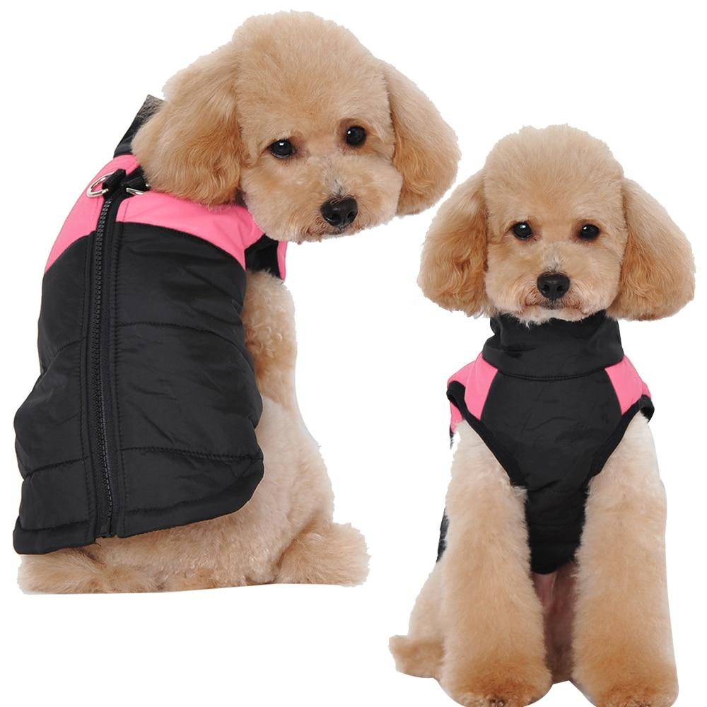 Vinter hund tøj jakke vandtæt varm pet vest jakke chihuahua fransk - Pet produkter - Foto 2