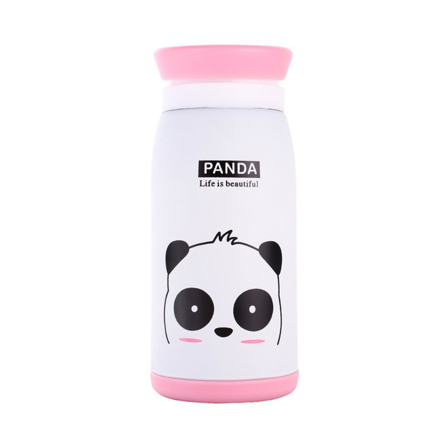 260ml/350ml Stainless Steel Cute Kids Thermos Insulated School Cup Bottle Thermocup Vacuum Flask Thermal Mug