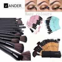 VANDER 5 Colors 32pcs Makeup Brush Set Professional Cosmetic Brushes Foundation Powder Blush Eyeliner Pincel Maquiagem