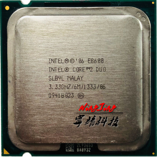 Intel Core 2 Duo E8600 3.3 GHz Dual-Core Bộ Vi Xử Lý CPU 6 M 65 Wát LGA 775