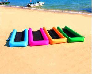 Image 1 - Volwassen nylon water vouwen Opblaasbare sofa Drijvende bed Size: 200*73*17 CM A018