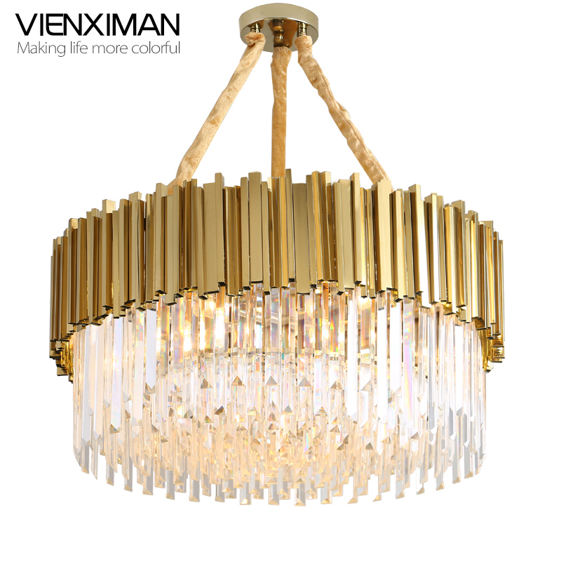 Vienxim Living room chandelier post modern creative personality art light luxury crystal ...
