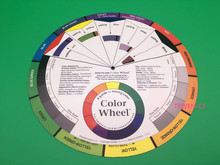 1 Pcs Tattoo Permanent Makeup Color Wheel