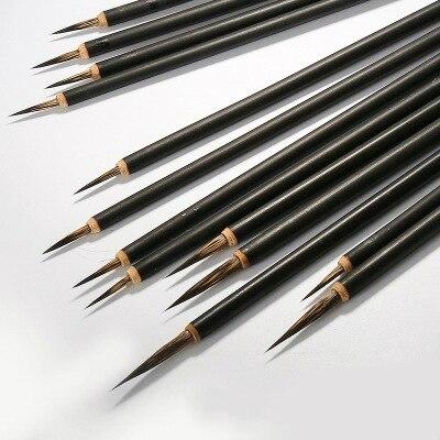 Grande pennello da calligrafia cinese per scrittura grande regolare e pittura