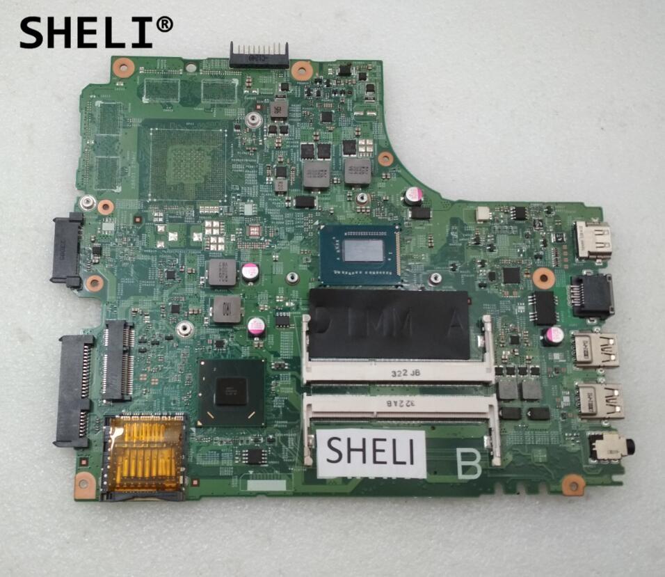SHELI For Dell 2421 3421 5421 Motherboard I3-3217U DNE40-CR CN-05HG8X 05HG8X 5HG8XSHELI For Dell 2421 3421 5421 Motherboard I3-3217U DNE40-CR CN-05HG8X 05HG8X 5HG8X