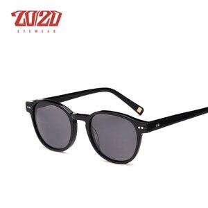 Image 3 - Classic Polarized Men Sunglasses Women Brand Designer Acetate Round Sun Glasses Driving Shades Unisex Eyewear Oculos AT8001
