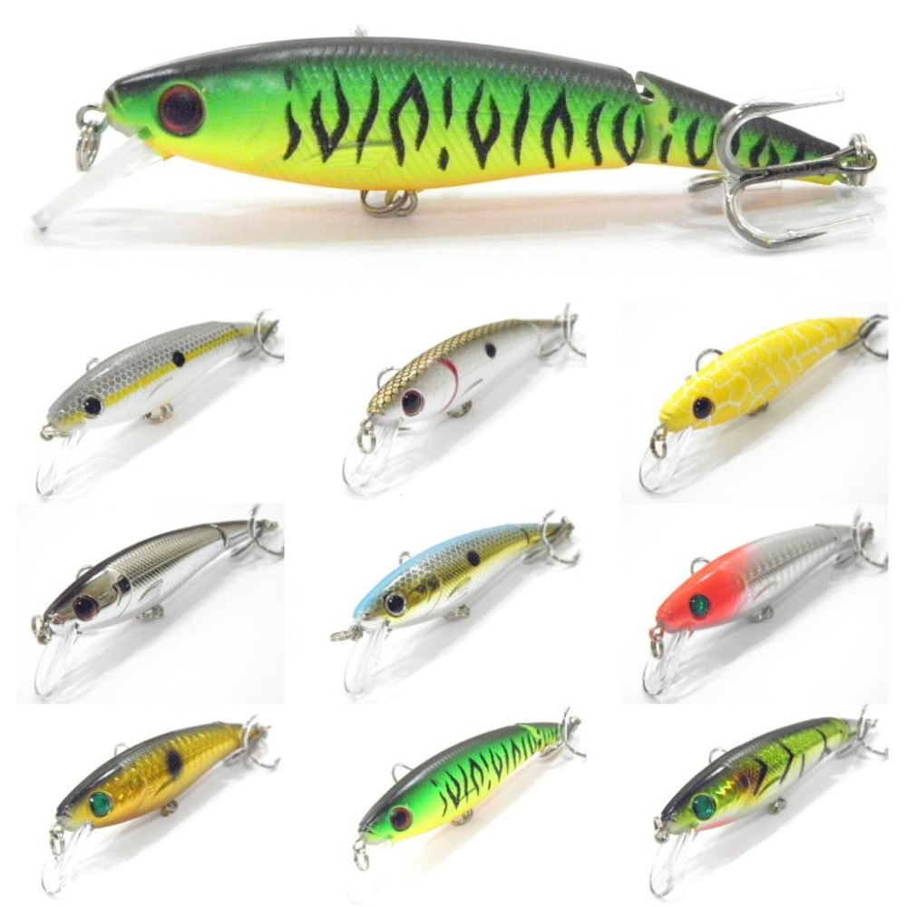 WLure 10cm 14g Jointed Minnow Jerkbait