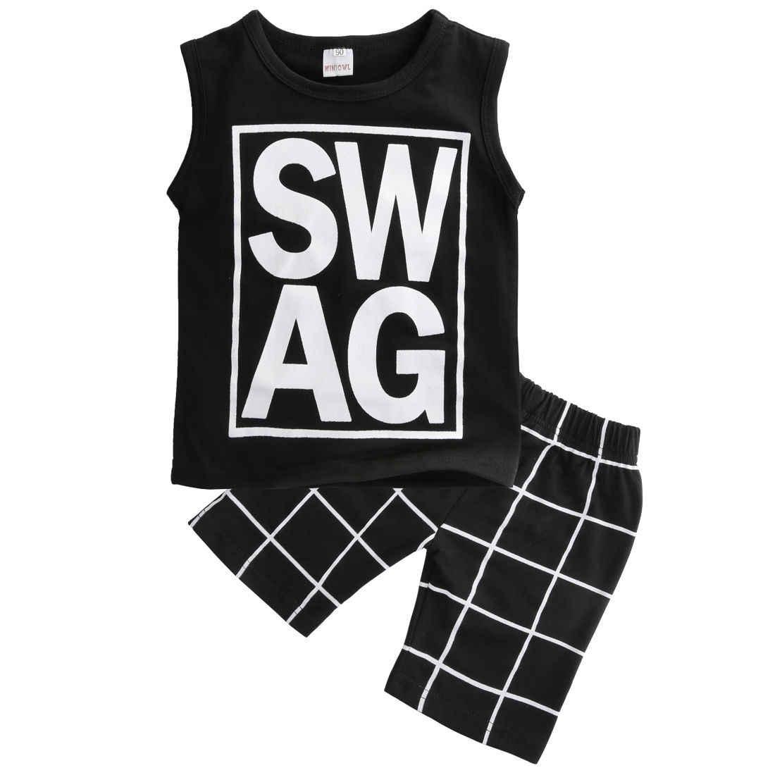 dbd49d70 2pcs Toddler Kids Baby Boy T-shirt Tops+Casual Pants Trouser Clothe Outfit  Set